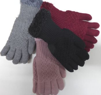 Ladies Cosy Gloves AC385